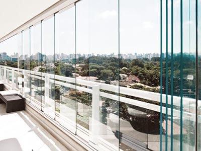 Instalação de Sacada de Vidro Aricanduva